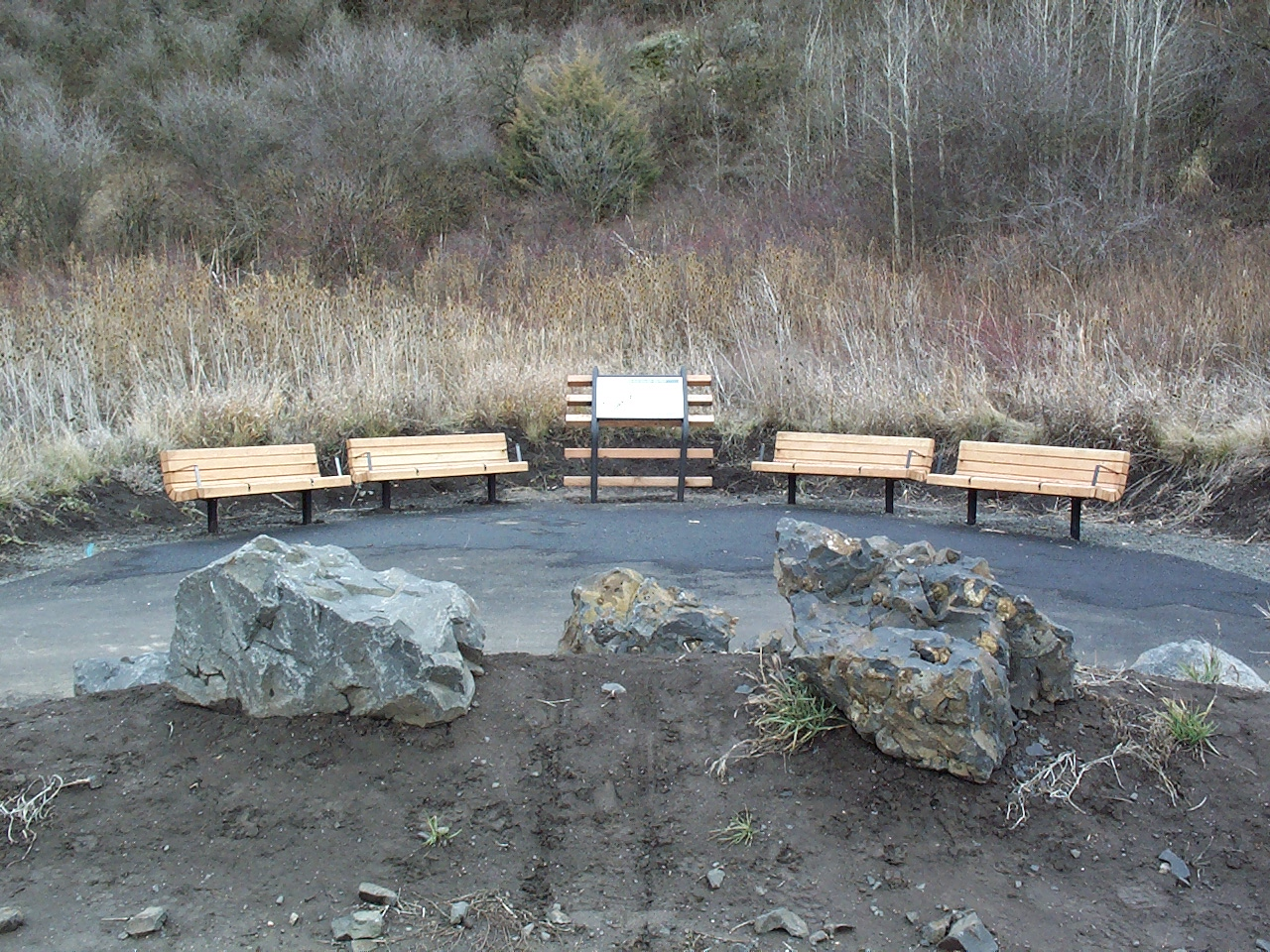 Bill Chipman Palouse Trail Bench Area